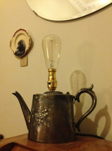 Teapot Lamp, by The Owl and the Pussycat